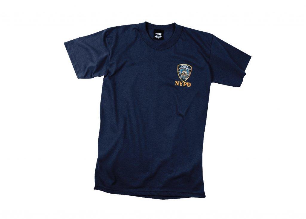 Nypd original t tröja marinblå alla shirts