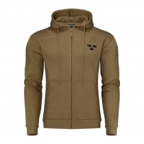 Mil Tec Royal Crown Hoodie - Coyote Brun