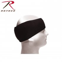 DOUBLE LAYER POLYPRO HEADBAND-BLACK