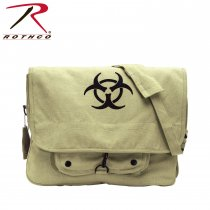 BIO-HAZARD Vintage Shoulder Bag Khaki