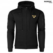 Mil Tec Royal Crown Hoodie - Svart