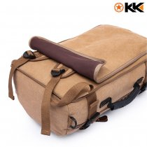 Kaka Canvas Hiking Backpack 40L - Kaki