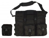 Tactical MOLLE Portfolio Notebook - Black