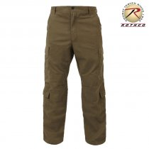 Paratrooper Vinatage Fatigue Pants - Russet Brown
