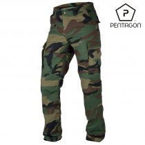 Pentagon BDU 2.0 Trousers - Woodland Camo