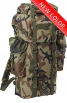 Combat Backpack 65L - Woodland camo
