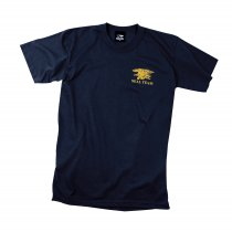 Rothco T-Shirt navy seal team marinblå
