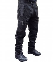 M93 Swedish Navy Trousers - Black