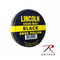 LINCOLN ® USMC Wax for leather shoes / boots Black