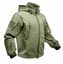 ROTHCO Special OPS Tactical Softshell Jacka Olivgrön