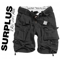 Surplus Vintage Division Shorts Black