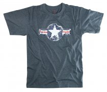 Amerikansk VINTAGE ARMY AIR CORPS Light blue T-Shirt