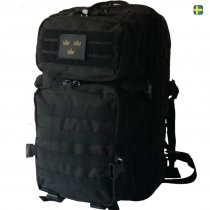 Army Gross Assault ryggsäck Three Crown Black