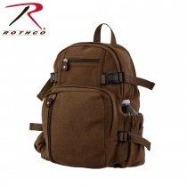 Rothco Earth Brown Vintage Compact Backpack
