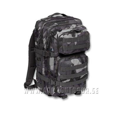 Army Patrol Ryggsäck 50L Svart Militära ryggsäckar och