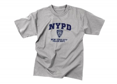 df6a67c05 NYPD Original T-Shirt NYPD Gray - T-Shirts - Clothing - Armyoutdoor.se
