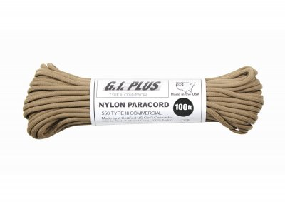 Paracord-coyote-brun-550