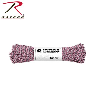 Paracord-pink-camo-550