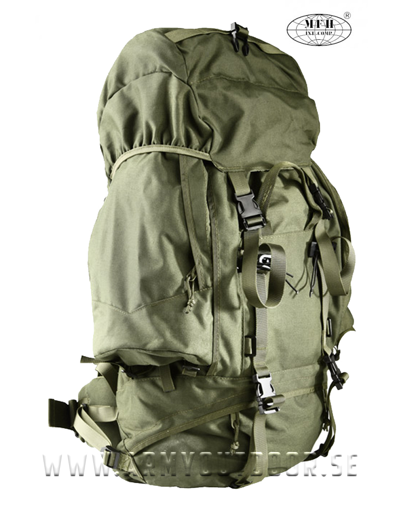 Max Fuchs Alpin Army-Ryggsäck 110L - Olivgrön - Backpack   Bags - Equipment  - Armyoutdoor.se 3f87bb6d39a85
