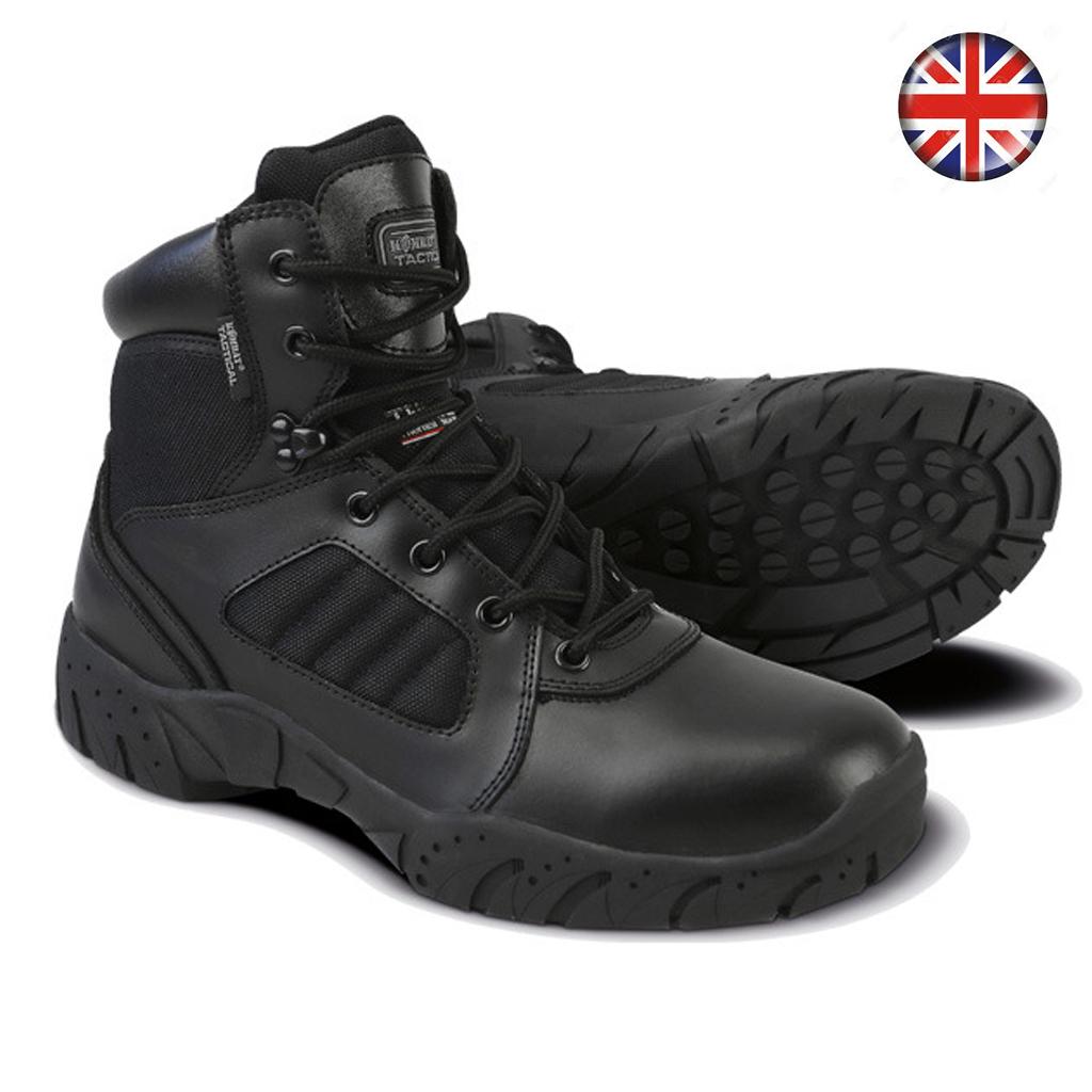 British Pro Tactical Boots Black
