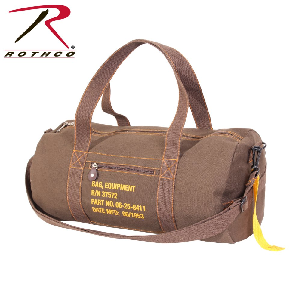 a661f18062 Rothco Canvas Equipment Bag - Backpack   Bags - Equipment - Armyoutdoor.se