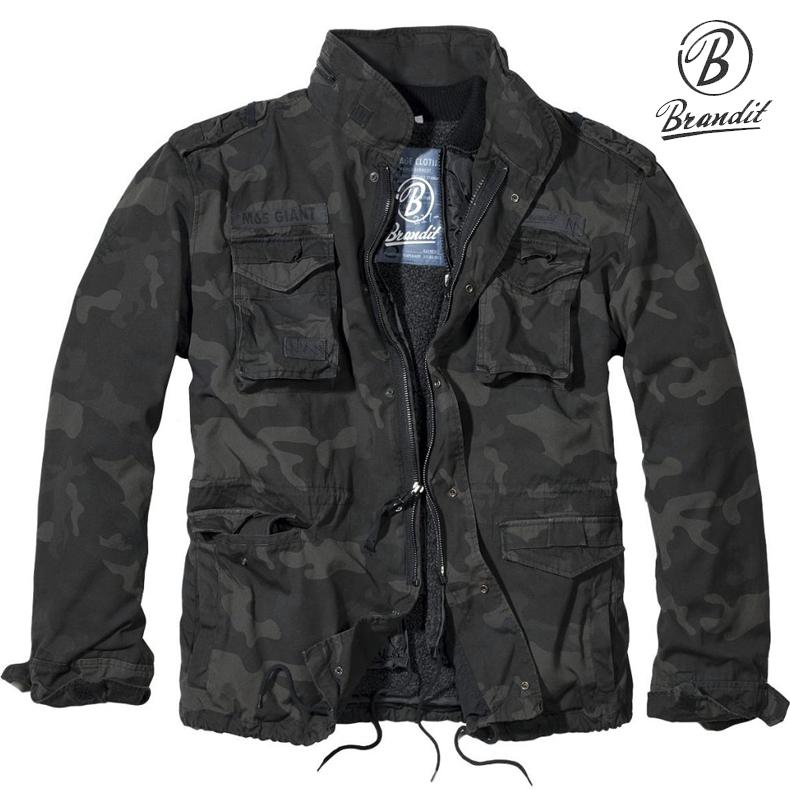 da1336d5fd8fc Brandit M65 Jacket Giant Dark Camo - M65 Jackets - Clothing ...